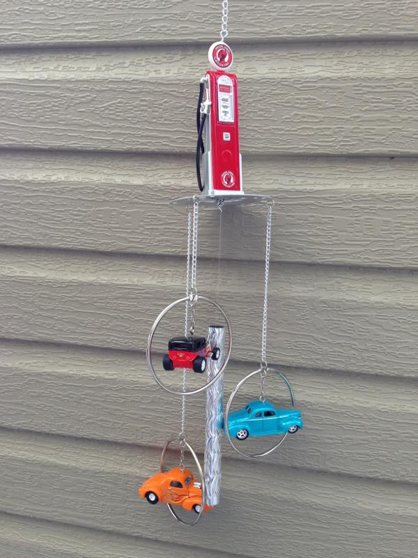 Street Rod Fuel Pump : Street rod gas pump maac wind chimes